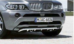 51/11/7/123/956 BMW genuino parachoques delantero inferior rejilla Panel Trim titanio