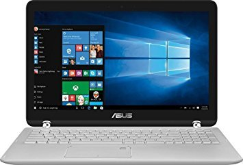 "2017 Asus 2-in-1 15.6"" Touch-Screen 1920x1080 LED Backlit Display High Performance Laptop, Intel Core i5 2.5 GHz, 12GB RAM, 1TB HDD, WiFi-AC, Bluetooth, HDMI, media reader, Webcam, Windows 10"