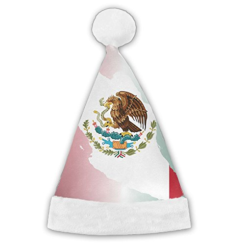 Mortimer Mexican Flag Clipart Santa Hat Christmas Costume Hat For Children And Adult