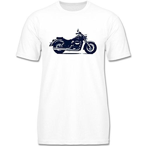 Fahrzeuge Kind - Motorrad - 104 (3-4 Jahre) - Weiß - F140K - Kinder T-Shirt für Mädchen und Jungen