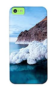 For Iphone 5c Protective Case, High Quality For Iphone 5c Nature Mountain Forest Landscape Fog Lake Skin Case Cover