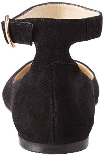 Women's noir à Noir 000 Ballerines cheville Villa bride JONAK anqvxvT5w6