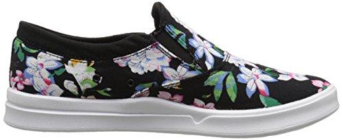 Las mujeres Etnies Corby antideslizante SC zapatos de mujer, BLACK/FLORAL, 7.5