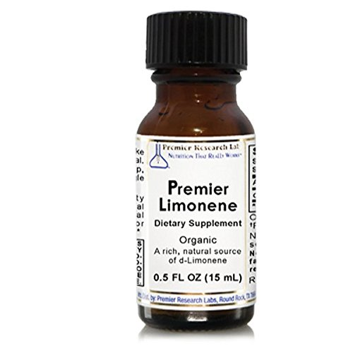 Premier Limonene, 300 servings of Premier Quality Orange Oil - A Natural Source of d-Limonene with Detoxification (Premier Labs Liquid Vitamin D)