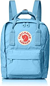 Fjallraven Kanken-Mini Classic Pack, Heritage and Responsibility Since 1960, Air Blue