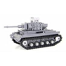 German WW2 Panzer Tank - Battle Brick Custom Set