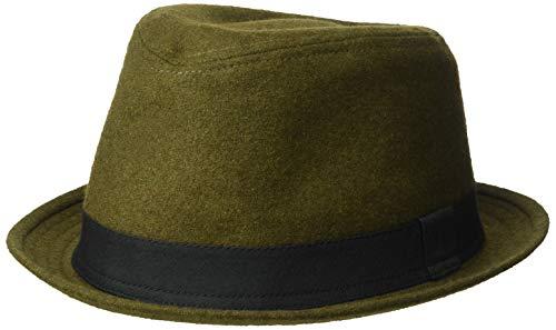 Levi's Men's Classic Fedora Hat, Olive Small/Medium