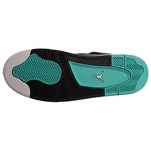 Nike Air Jordan 4 Retro 30th Bg, Zapatillas de Deporte para Niños Verde / Negro (Teal / White-Black-Retro)