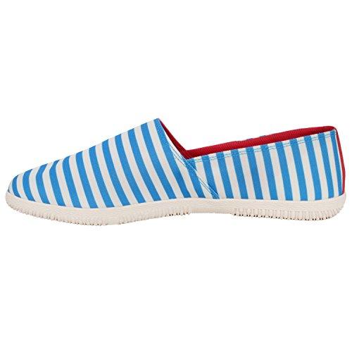 adidas Originals Adidrill - Herren Espadrilles - Aus Canvas-Stoff Blau