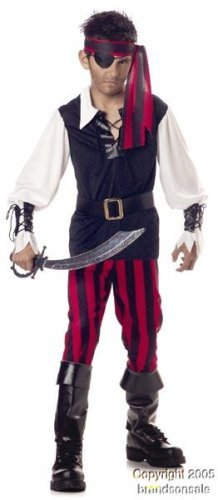 Kid's Cutthroat Pirate Costume (Size:Large 1012) (Halloween Costume 1012)