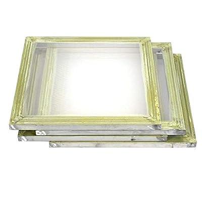 """4 Pack Aluminum Silk Screen Printing Press Screens 156 Frame Mesh 20"""" X 20"""""""