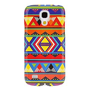 JJE Diversity Triangles Pattern Protective Hard Back Cover Case for Samsung Galaxy S4 Mini I9190