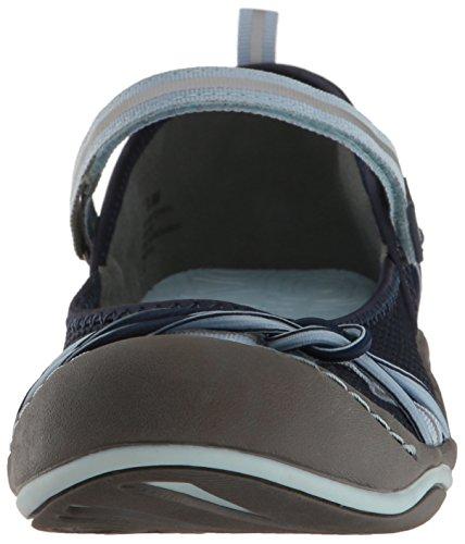 JSport by Jambu Womens Misty Encore Walking Shoe Navy/Sky Blue 1KGbdxN5Y