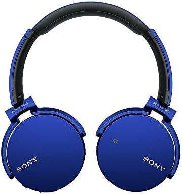 Sony MDR XB650BT Cuffie Chiuse Wireless con bassi potenziati, Extra Bass, Driver da 30 mm, Bluetooth, NFC, Blu