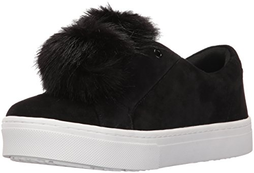 Sam Edelman Women's Leya Fashion Sneaker, Black, 7.5 M US