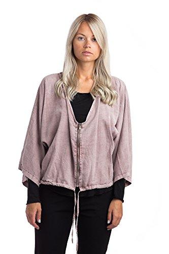 Abbino 16488 Jacket for Womans - Sale Sexy Elegant Stylish - (Authentic Pink Ladies Jacket)