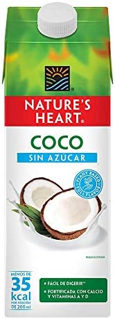 Nature's Heart Bebida de Coco sin Azúcar, 94