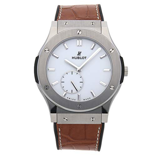 Hublot Classic Fusion Mechanical (Hand-Winding) White Dial Mens Watch 515.NX.2210.LR (Certified Pre-Owned)