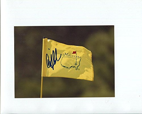 CRAIG STADLER HAND SIGNED 5x7 COLOR PHOTO+COA GOLF MASTERS FLAG - Autographed Pin Flags