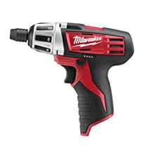 Milwaukee 2401-20 M12 12-Volt Li-Ion Subcompact Driver ,Tool Only, No Battery