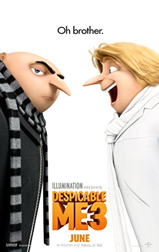 Despicable Me 3 Movie Poster Limited Print Photo Steve Care