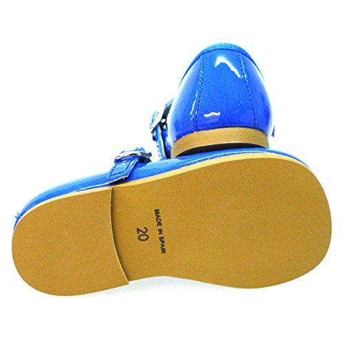 Zapatos Primeros Pasos Merceditas Bailarinas Clarys 1055 Azul AZUL