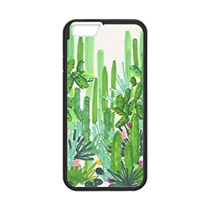 catus plants green iPhone 6 Case Black by ruishername