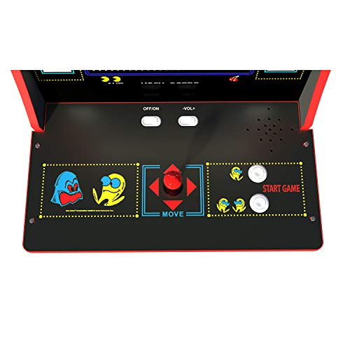 Arcade 1Up Pac-Man Deluxe Arcade System with Riser, 5ft by Arcade 1Up (Image #1)