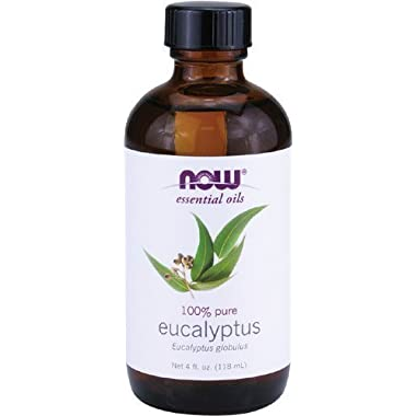 Now Foods Eucalyptus Oil 4 oz Liquid (Pack of 2)