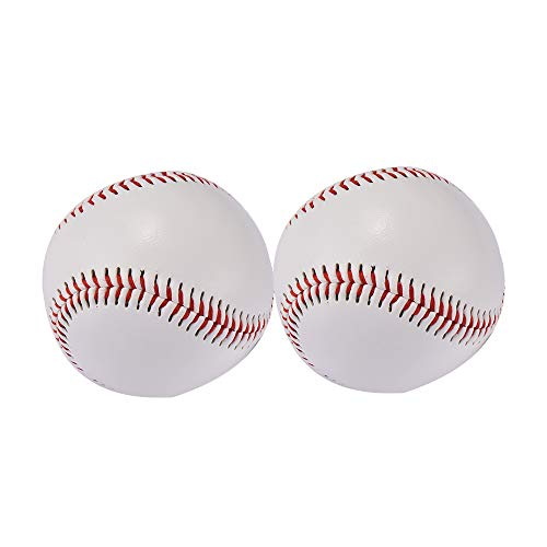- NAXIN,Standard 9 unmarked Baseball Leagues, practices, Games, Gifts, Souvenirs, Crafts, Trophies, and Autographed Padded Safety Baseballs,2 Pack