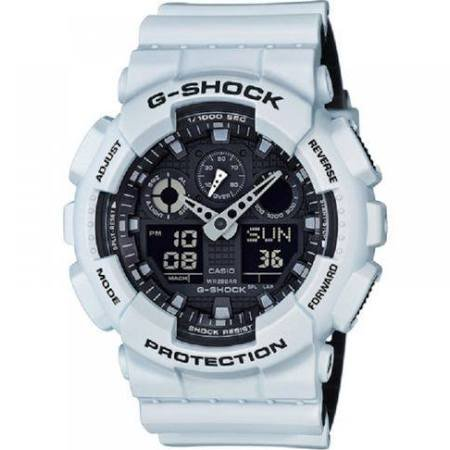 G-Shock GA-100 Military Series Watches - White / One Size (G Shock Watches For Men White)