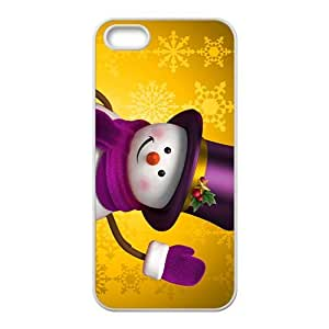 Say Hi To Christmas DayHight Quality Plastic Case for Iphone 5s