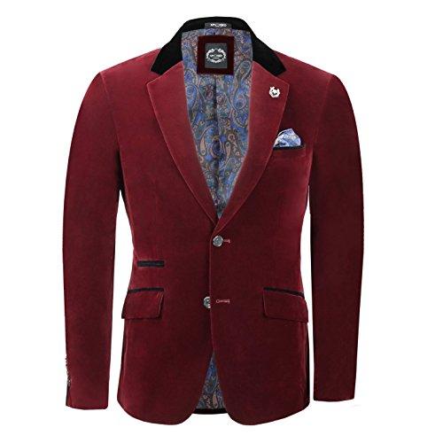 Tous Veste Blazer Pour Séparément Homme Bordeaux Vendu Gilet Rouge Tuxedo Velours Vintage 3 Pantalon nbsp;pièce Les En 8F7q1wH