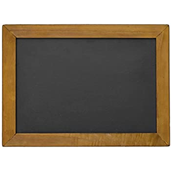 amazon com vintage chalkboard 16 x 12 two sided rustic hanging