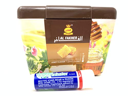 Al Fakher Shisha Molasses - Non Tobacco 250g Honey Flavour Hookah Water Pipe Sold by SuperStore77 with Trademark Vapor Inhaler
