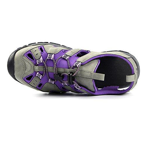 Northside Sandal Grey Burke Purple II Women's 4w64qtnxra