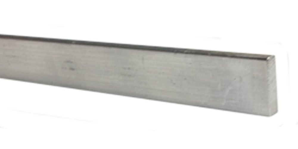 Cut to Length Metal File Rail 3/4'' High (Metal Clips to fit Over 1/2'' Wood Drawer Side, 1'' - 15'' Long)