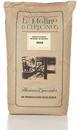Harina de Centeno Ecológica Integral 25 kg: Amazon.es ...