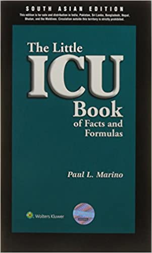 Book The Little ICU Book of Facts and Formulas