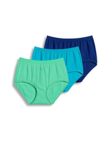 jockey-womens-underwear-comfies-cotton-brief-3-pack-tibetian-turquoise-stripe-9