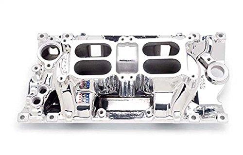 - Edelbrock 75264 SBC Dual Quad Air Gap Intake Manifold