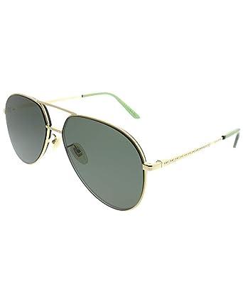 Amazon.com: Gucci GG0356S 001 - Gafas de sol (metal, lentes ...