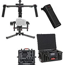 KIT1 RONINM Kit with DJI Ronin-M 3-Axis Handheld Gimbal Stabilizer + HardCase HPRC2700W + Battery PART35