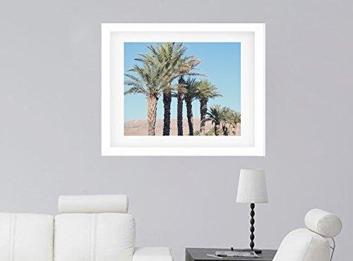 Palm Tree Art Print, Southwestern Wall Decor, Tropical Wall Art, California Wall Decor Picture, Palm Tree Wall Art, Green Tropical Leaves