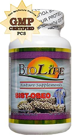 Amazon.com: Sist Oseo 700mg By Biolife 60 Caps Clucosamine and Choindritin with MSM Support Osteoporosis, High Blood Pressure 100% Natural: Health ...