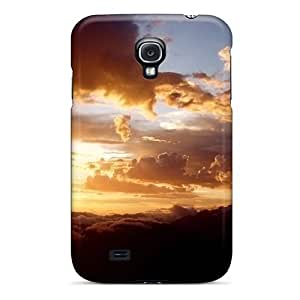 For Galaxy S4 Tpu Phone Case Cover(amazing Sight Whistler Mountain)