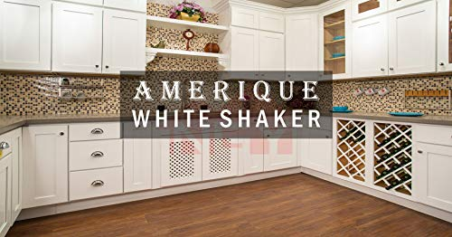 AMERIQUE 691322309430 Luxury White Shaker Vanity Cabinet 30