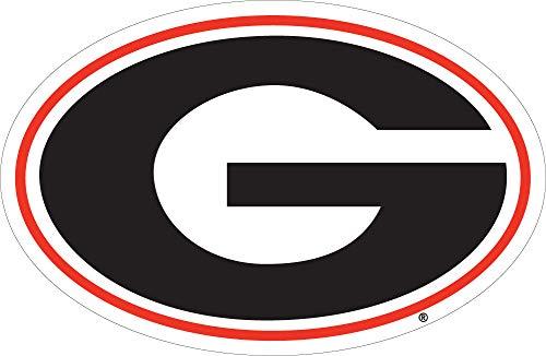 - Craftique Georgia Bulldogs G Logo Car Decal-12in