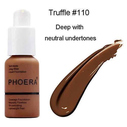 Makeup Brush Matte Oil Control Concealer Foundation Cream Liquid Foundation (110)