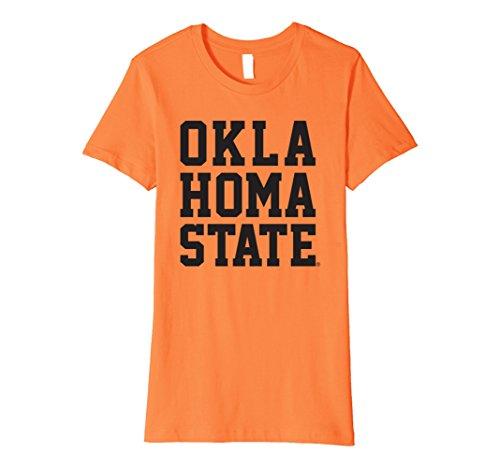 Womens Oklahoma State University Ncaa Womens T Shirt Osuc1009 Xl Orange